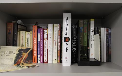 Crossley ID Guide Eastern Birds on bookshelf