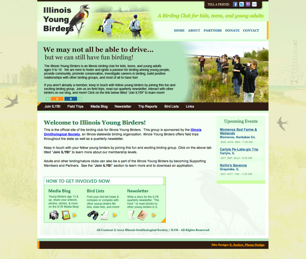 Illinois Young Birders Club Screenshot
