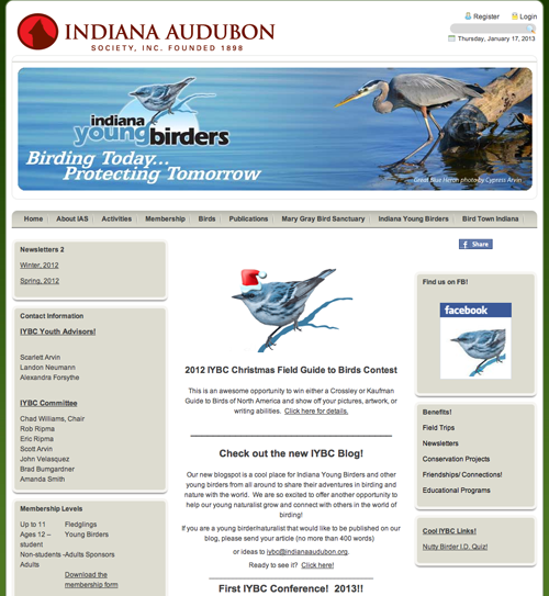 Indiana Young Birders Club