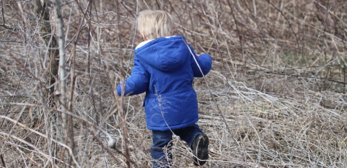 Hiking With a Toddler – First Day of Spring