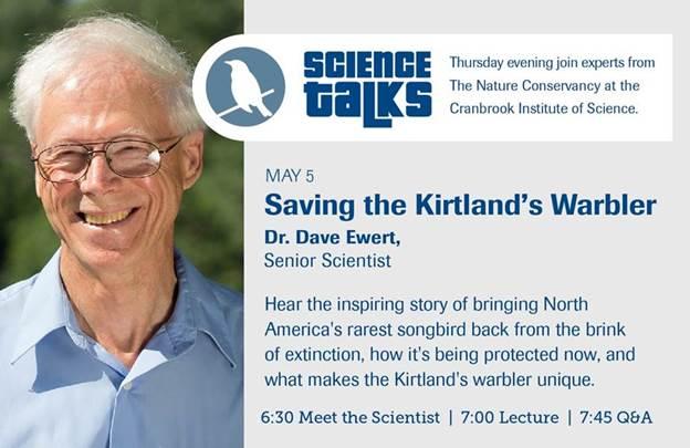 Saving The Kirtland's Warbler