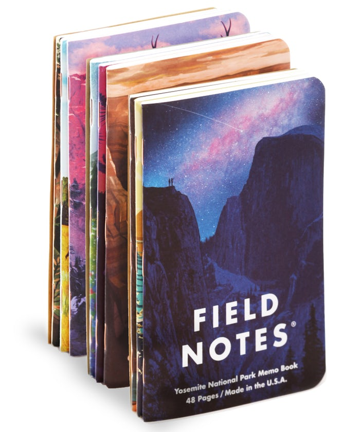National Parks Field Notes Note Books
